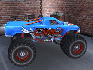 Monster Truck Stunt