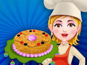 Baking Apple Cake