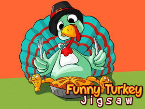 Funny Turkey Jigsaw