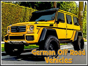 German Off Road Vehicles