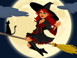 Midnight Witches Jigsaw