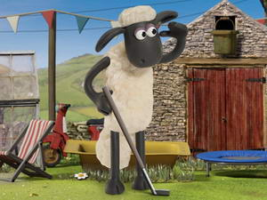 Shaun The Sheep: Baahmy Golf