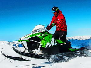 Snowmobile Jigsaw