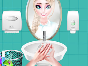 Wash Your Hands Princess